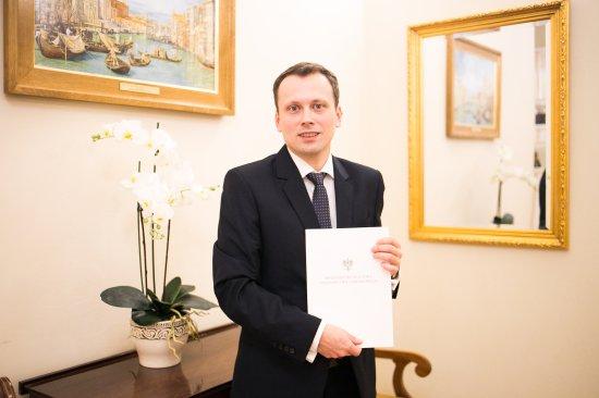 Na zdjęciu: dyrektor Narodowego Centrum Kultury Rafał  Wiśniewski