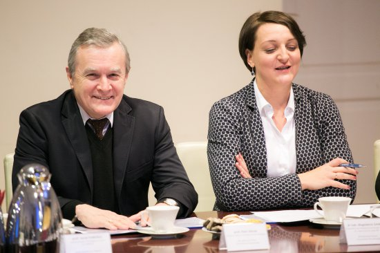 Na zdjęciu: minister Piotr Gliński i wiceminister Magdalena Gawin