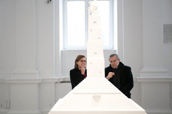 Na zdjęciu: Wicepremier prof. Piotr Gliński i Hanna Wróblewska