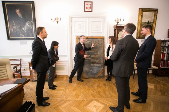 Na zdjęciu: Tablice pamiątkowe z dawnego Domu Polskiego w Wiedniu