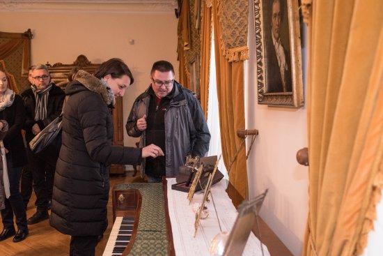 Na zdjęciu: Wiceminister Magdalena Gawin podczas wizyty w Zgierzu