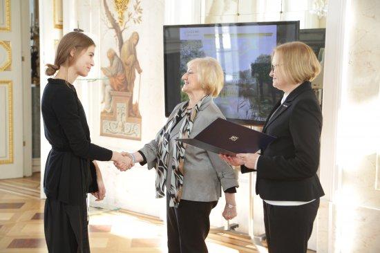 Na zdjęciu: Laureaci Konkursu Generalnego Konserwatora Zabytków i Stowarzyszenia Konserwatorów Zabytków