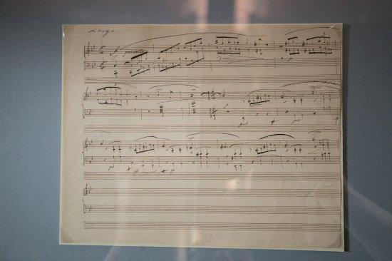 Na zdjęciu: rękopis Fryderyka Chopina