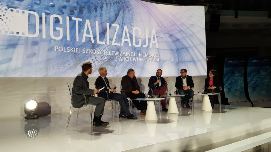 Na zdjęciu: Wiceminister Paweł Lewandowski podczas Sympozjum Świata Telekomunikacji i Mediów