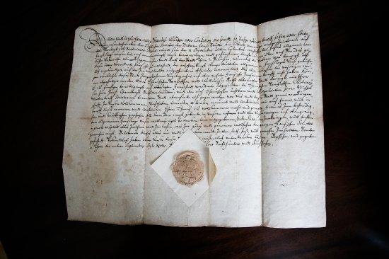 Na zdjęciu: materiały z Archiwum Państwowym w Gdańsku