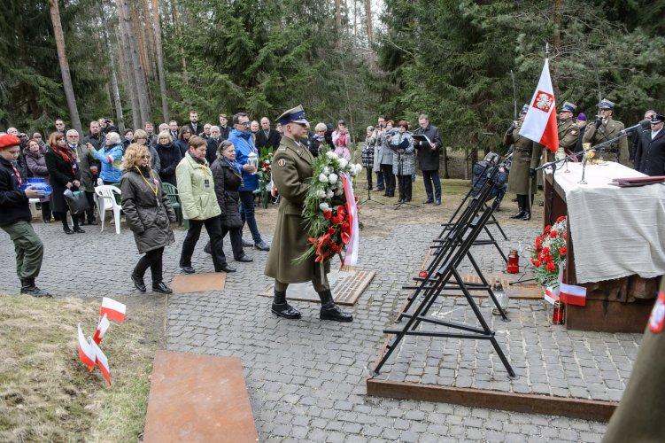 Na zdjęciu :uroczystości upamiętniające zbrodnię NKWD w Katyniu