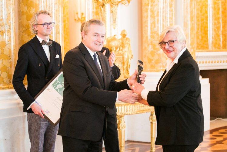 Na zdjęciu: Minister Piotr Gliński