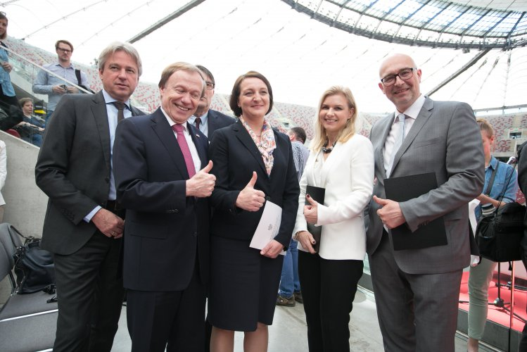 Na zdjęciu: Minister Magdalena Gawin na 8. Targi Książki