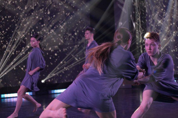 Na zdjęciu: Uczestnicy konkursu Młody Tancerz
