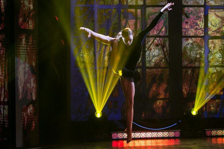 Na zdjęciu: Uczestniczka konkursu Młody Tancerz