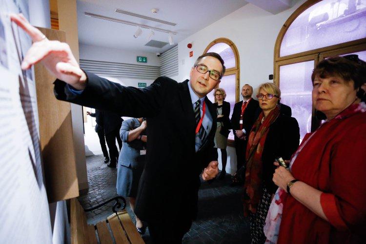 Na zdjęciu: Spotkanie ministrów kultury państw Grupy Wyszehradzkiej