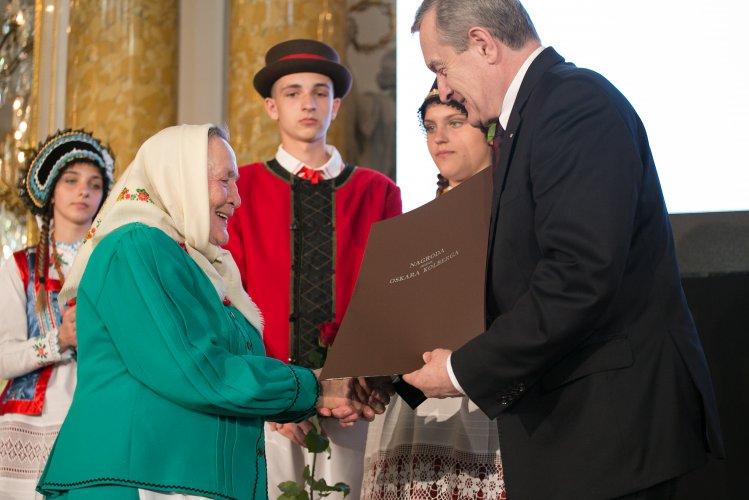 Na zdjęciu: Laureaci nagrody im. Oskara Kolberga