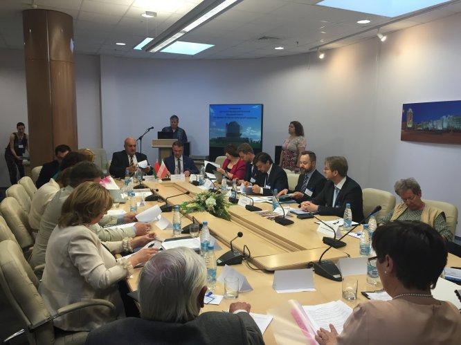 Na zdjęciu: Wizyta ministra Jarosława Sellina na Białorusi