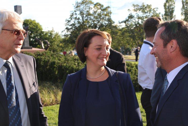 Na zdjęciu: minister Gawin w Krakowie