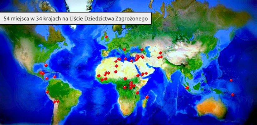 mapa dziedzictwa zagrożonego