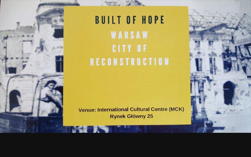 Warszawa, miasto odbudowy