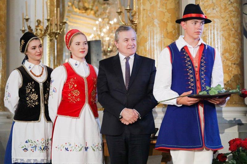 Na zdjęciu: Gala nagród im. Oskara Kolberga dla twórców sztuki ludowej