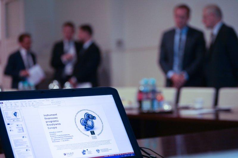 Na zdjęciu: Spotkanie wicepremiera Glińskiego z przedstawicielami sektora bankowego