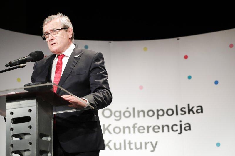 Na zdjęciu: sympozjum podsumowujące Ogólnopolska Konferencja Kultury