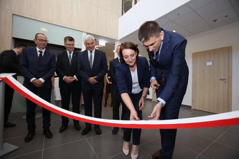 na zdjęciu uroczystości otwarcia nowej siedziby Archiwum Państwowego w Białymstoku. autor zdjęcia Bogusław Florian Skok