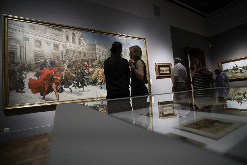 Na zdjęciu: Wernisaż wystawy Józefa Brandta w Muzeum Narodowym