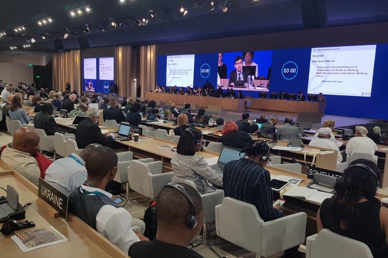 42. sesja Komitetu Światowego Dziedzictwa UNESCO. zdjęcie z archiwum MKiDN