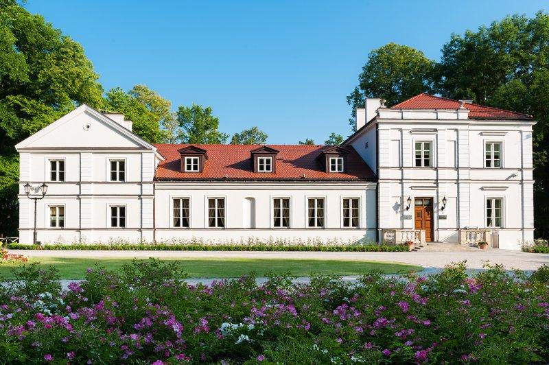 na zdjęciu Budynek Muzeum im. Kazimierza Pułaskiego w Warce autor zdjęcia Igor Dziedzicki