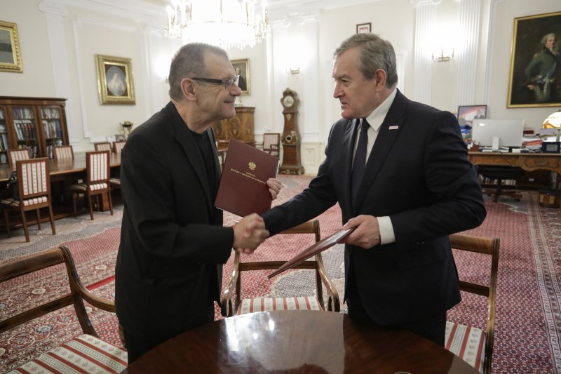 Na zdjęciu: Powołanie Ryszarda Peryta na dyrektora Polskiej Opery Królewskiej