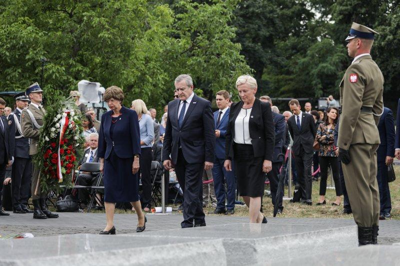 Na zdjęciu: Wicepremier Piotr Gliński podczas państwowych obchodów Narodowego Dnia Pamięci Ofiar Ludobójstwa na Wołyniu