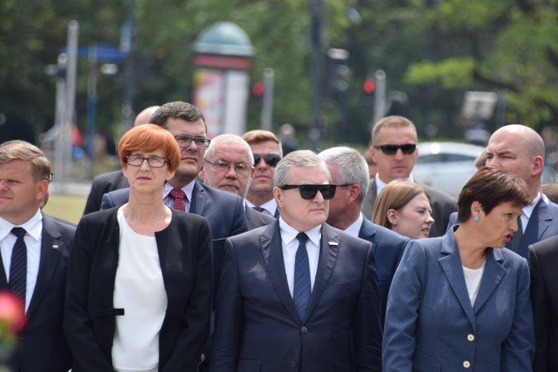 Na zdjęciu: państwowe obchody Narodowego Dnia Pamięci Ofiar Ludobójstwa na Wołyniu