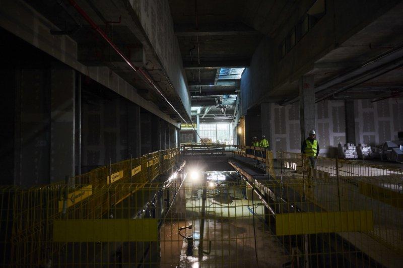 kanał Raduni w trakcie budowy Forum Gdańsk autor zdjęcia Dominik Kulaszewicz