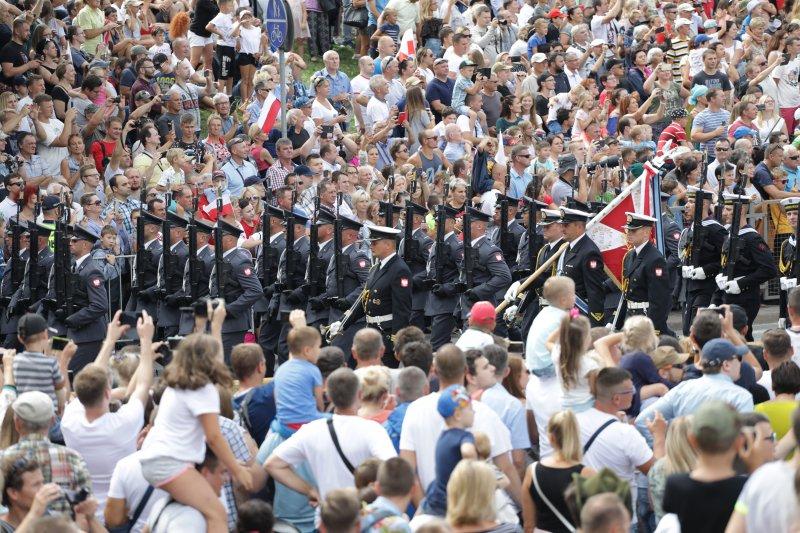 Na zdjęciu: Wielka Defilada Niepodległości. autor zdjęcia Danuta Matloch