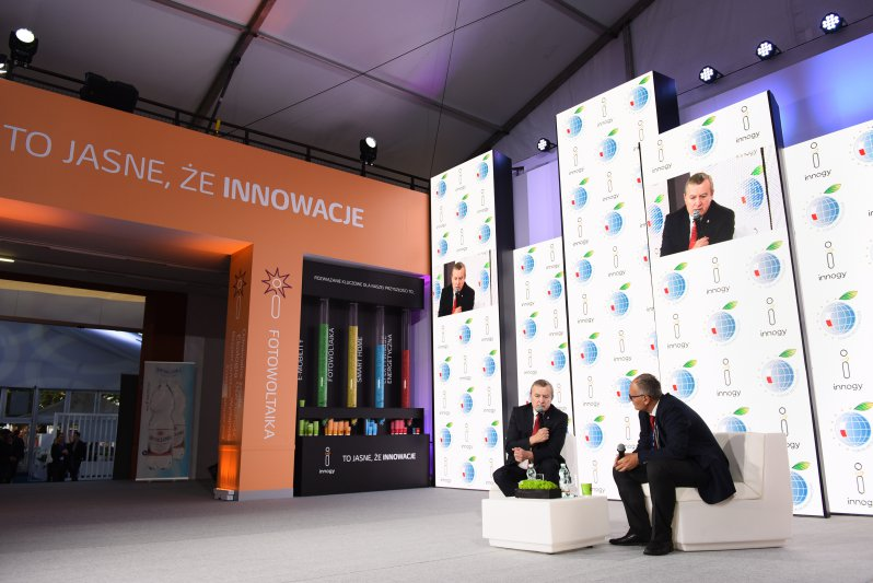 Na zdjęciu: wicepremier Piotr Gliński w Krynicy