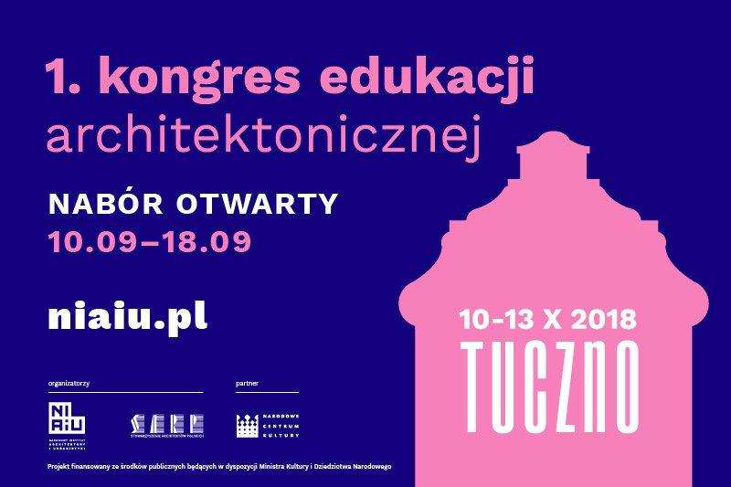 baner I Kongresu Edukacji Architektonicznej