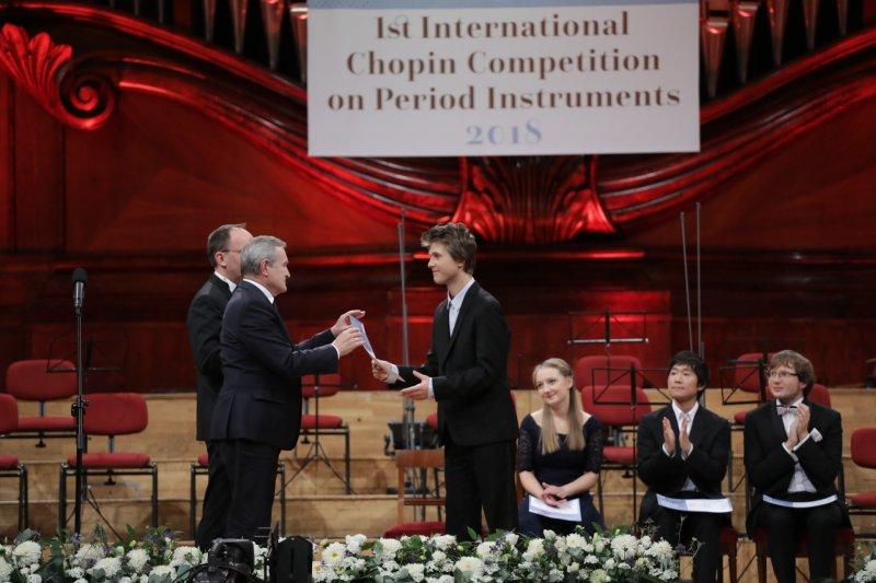 Na zdjęciu: Finał I Konkursu Chopinowskiego na Instrumentach Historycznych