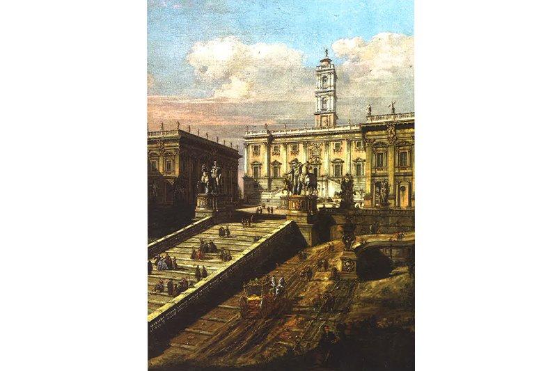 na zdjęciu obraz Canaletta