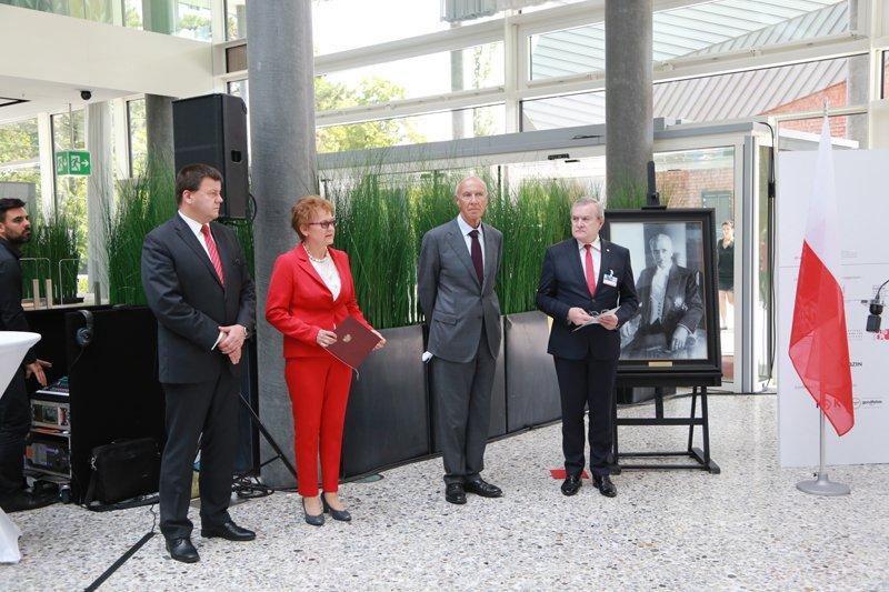 Minister Gliński w Genewie fot. Łukasz Różycki