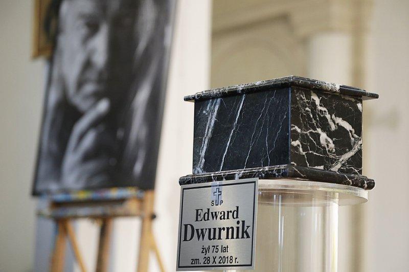 Na zdjęciu: Uroczystości pogrzebowe Edwarda Dwurnika