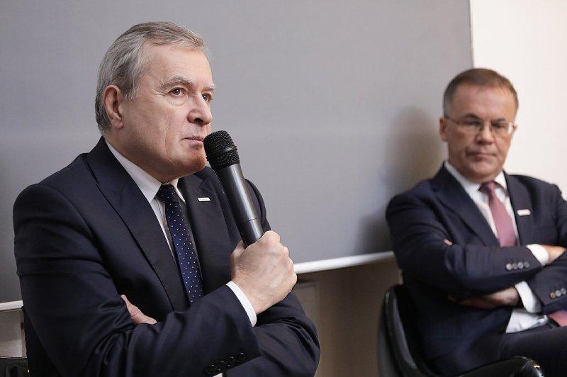na zdjęciu wicepremier Gliński i wiceminister Sellin