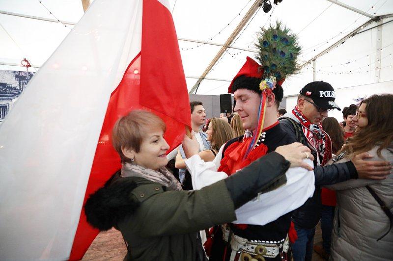 na zdjęciu uczestnicy festiwalu