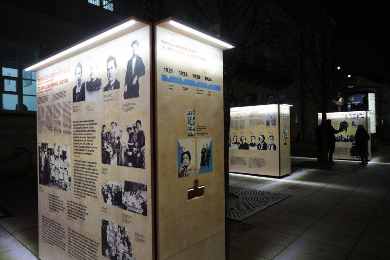 na zdjęciu fragment wystawy