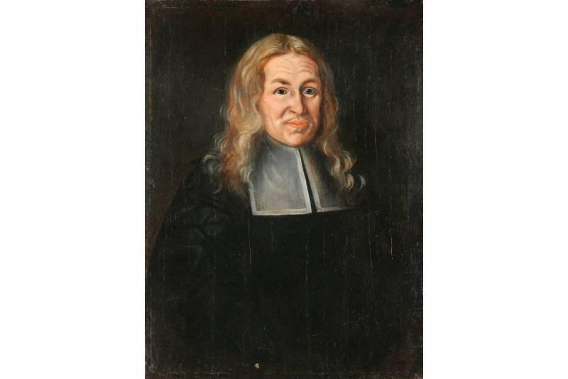 Artysta nieznany,  Portret Wolfganga Scharschmidta,  1678  Muzeum Narodowe we Wrocławiu