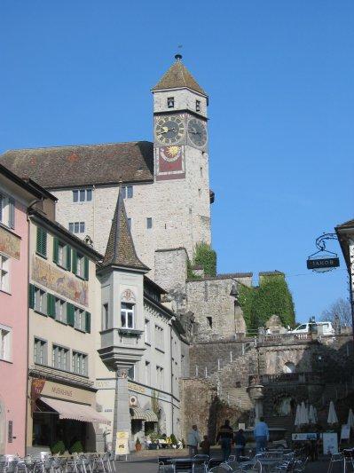 Na zdjęciu: Widok na zamek w Rapperswilu. Zdjęcie z archiwów muzeum.
