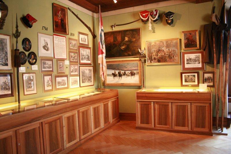 Na zdjęciu: Wnętrza muzeum w Rapperswilu. Zdjęcie z archiwów muzeum.