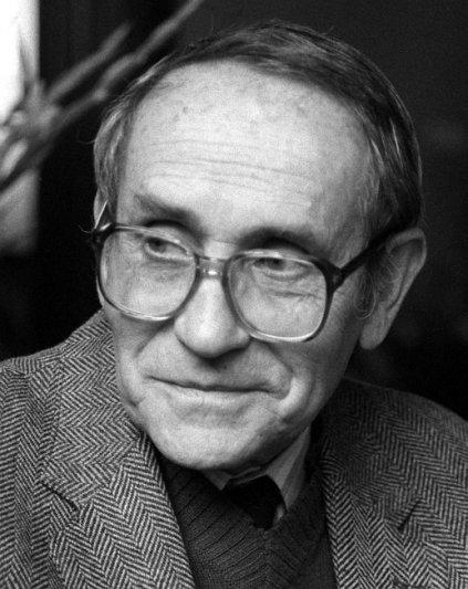 Tadeusz Konwicki. autor zdjęcia Witold Rozmysłowicz/PAP