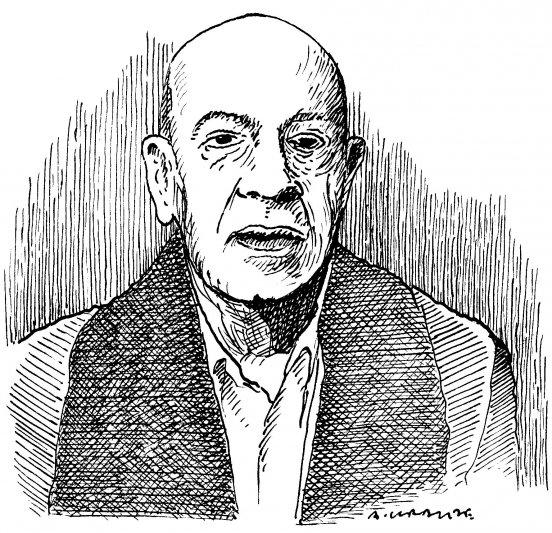 Portret Antoniego Krauzego,  autorstwa jego brata – Andrzeja Krauzego,  przekazany wicepremierowi,  ministrowi kultury prof. Glińskiemu.