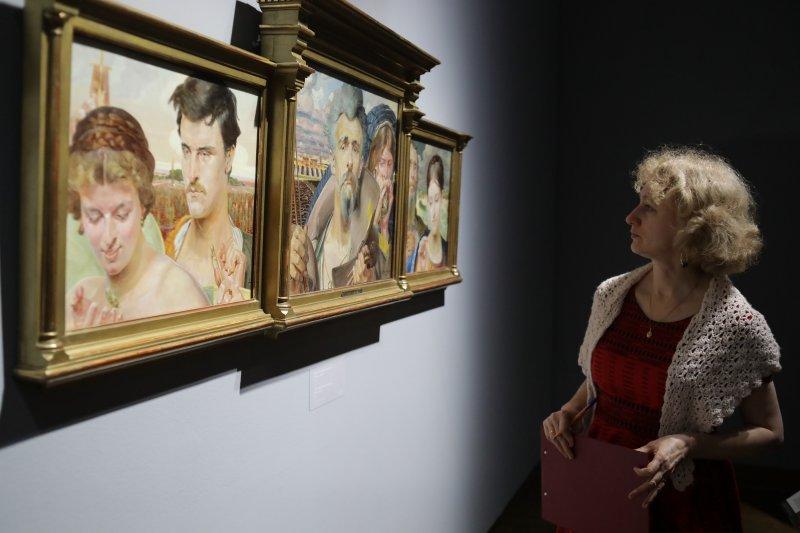 wernisaż wystawy  poświęconej I. Paderewskiemu w Muzeum Narodowym