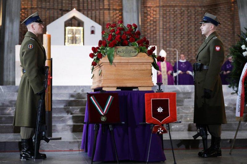 Na zdjęciu: Uroczystości pogrzebowe Antoniego Krauzego