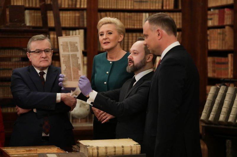 Na zdjęciu: Uroczystość jubileuszu 90-lecia reaktywacji Biblioteki Narodowej
