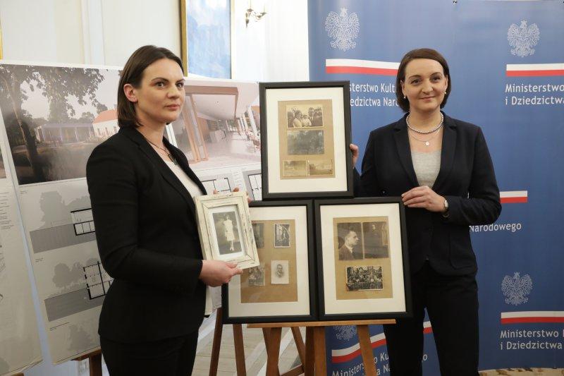 Na zdjęciu: konferencja zorganizowana w siedzibie MKiDN dotycząca Muzeum Marii i Witolda Pileckich w Ostrowi Mazowieckiej